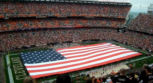US Flag Football Field